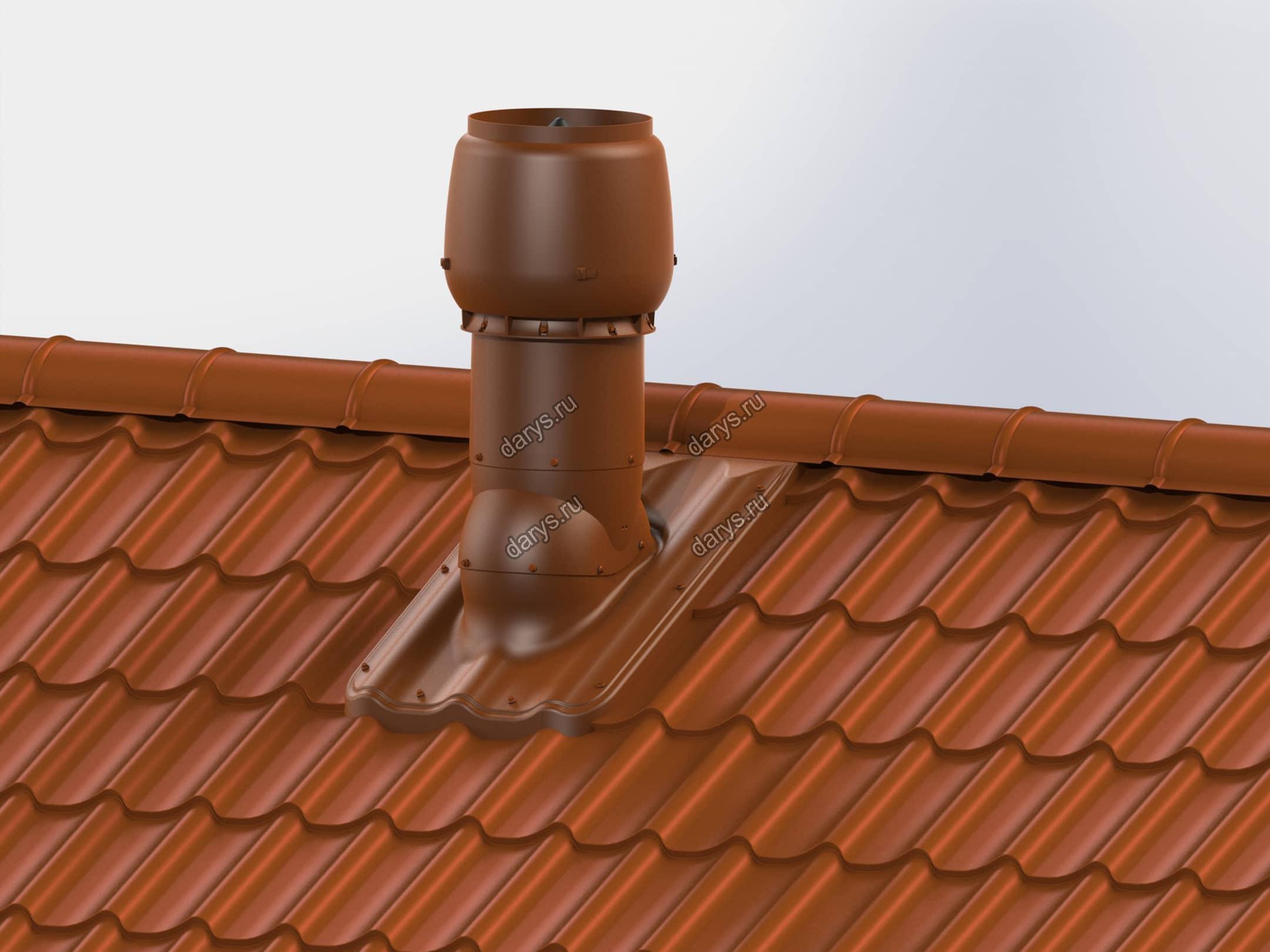 Как вывести трубу на крышу своими руками